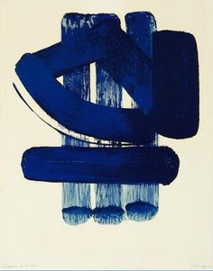 View Lithographie 37 By Pierre Soulages; Lithograph on Arches vellum; Access more artwork lots and estimated & realized auction prices on MutualArt. Tachisme, Action Painting, Abstract Images, Abstract Art, Abstract Paintings, Art Bleu, Modern Art, Contemporary Art, Art Informel