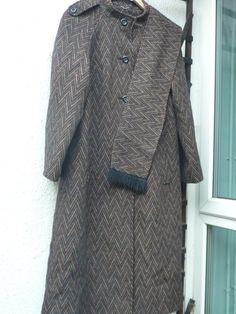 Women's Ladies 1960s Scottish wool Coat by Shadesofstylelondon