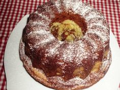 Guguluf marmorat Sweets Recipes, Desserts, Loaf Cake, Sweet Bread, Doughnut, Muffin, Food And Drink, Pudding, Ice Cream
