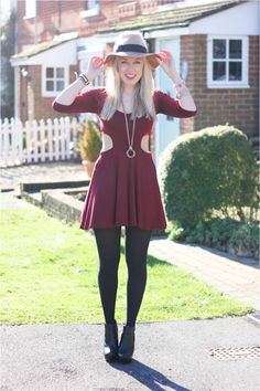 @MediaMarmalade looks fab in our cut out skater dress! www.karmaclothing.co.uk