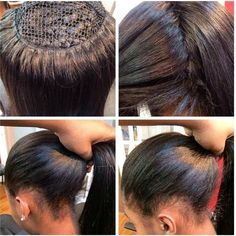 Flawless perfect #weaves#sewnin you can out a high ponytaila bun or an updovery natural!! #ponytail#highponytail#bun#updo#beautiful#gorgeous#hair#naturalcolor#naturalhair#hairgoal#great#install#slayed#nice#blackhair#pin