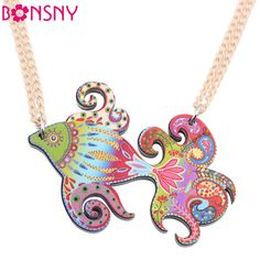 Find More Pendant Necklaces Information about Bonsny Fish Necklace Acrylic Pattern Choker Collar Pendant Cute Animal Design Fashion Jewelry 2015 New For Women Girls Accessory,High Quality necklace knot,China necklace cam Suppliers, Cheap necklace soldier from NEWEI JEWELRY FACTORY on Aliexpress.com