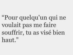 Tu le sais, non? Heartbreaking Quotes, Dream Music, Image Citation, French Quotes, Bad Mood, Some Words, True Stories, Breakup, Sentences