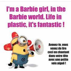 Blague Barbie girl