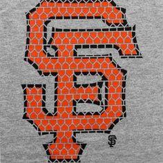 Majestic San Francisco Giants Bases Loaded T-Shirt - Ash