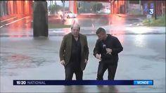 Inondations aux Texas , Houston est victime d'inondation