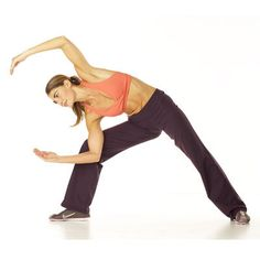 Dancing half-moon kick, a graceful move that tones and strengthens your back, core, and lower body.   health.com