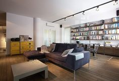 Industrial Apartment by Soma Architekci http://www.homeadore.com/2013/08/29/industrial-apartment-soma-architekci/