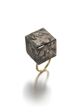 ring 2014 silver, gold - Marzia Rossi
