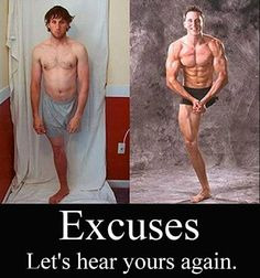 One-legged Body Builder. What's your excuse?