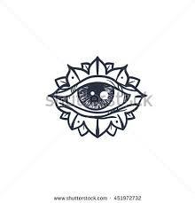 Resultado de imagen para simple all seeing eye tattoo