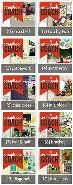 Scrapbook Coach  Set aside sketches and templates and use foundations.