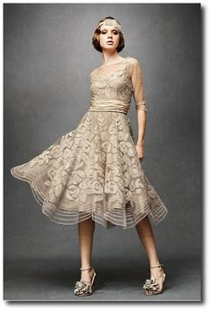 Anthropologie Wedding Gowns Ribonned Silk Gown