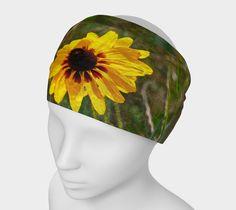 "Headband+""Black+Eyed+Susan+Headband""+by+Scott+Hervieux+Photography,+Art,+and+More"