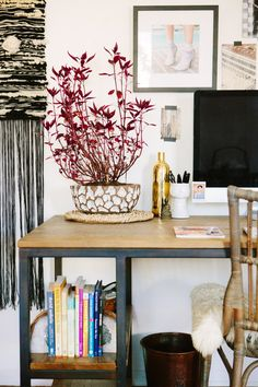 Home Office Makeover with Arhaus on A House in the Hills