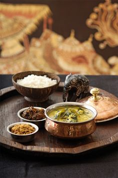 Dahl And Spinach Curry; Sri Lankan. Peter Kuruvita