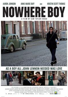 Nowhere Boy is one of the best related movie about Lennon 's early life I've ever seen!! <3 <3