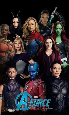 A-Force is a team of Avengers comprised of the mightiest women who fight to protect people