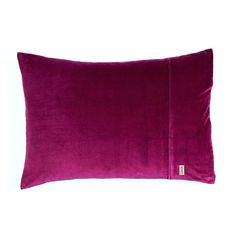 Kip & Co Velvet pillowcase pair - Cherry
