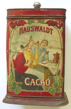 Alte Dosen - Hauswaldt Kakao Magdeburg