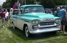 i want this truck - 58 Chevy Apache