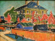 Ernst Ludwig Kirchner - Villa in Dresden - Ernst Ludwig Kirchner - Wikimedia Commons