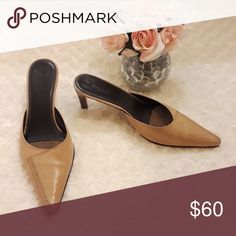 ad0e6d2a68 Cole Haan Country: Tan Leather Heels Cole Haan Country: Tan Leather Heels  Used Condition