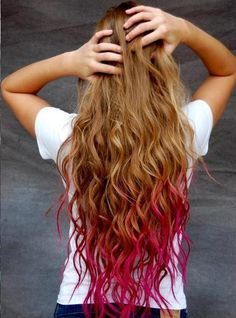 Can't wait till my hair is this long!