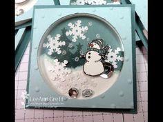 White Christmas Shaker with Video - Flowerbug's Inkspot