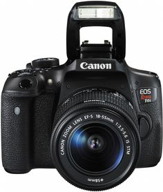 For gorgeous, high-quality photos and videos that are easy to share, look to the Canon EOS Rebel camera! Canon EOS Rebel DSLR with EF-S IS STM Lens Kit Camaras Reflex Canon, Canon Dslr, Nikon D3300, Cameras Nikon, Camera Lens, Canon Kamera, Camara Canon Eos, Canon Eos Rebel T6i, Canon Zoom