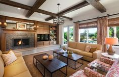20 Stunning Living Rooms With Multiple Coffee Tables