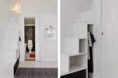 Scandinavian interior design, mulitfunctional interior spaces