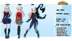 Hero Academia Characters, My Hero Academia, Character Sheet, Character Design, Super Hero Outfits, Anime Songs, Deviantart, Superhero, Dragons