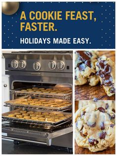 A Cookie feast, Faster. Holidays made easy with Bluestar cooking range. Click to learn more.