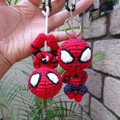 Amigurumi pattern crochet Spiderman PDF for Amigurumi Patterns, Amigurumi Doll, Crochet Patterns, Cute Crochet, Crochet Dolls, Spiderman, Amigurumi For Beginners, Incredible Gifts, Knitting Magazine