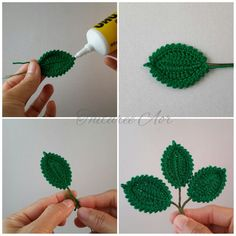 Watch The Video Splendid Crochet a Puff Flower Ideas. Phenomenal Crochet a Puff Flower Ideas. Crochet Puff Flower, Crochet Flower Tutorial, Crochet Leaves, Crochet Flowers, Unique Crochet, Cute Crochet, Crochet Crafts, Crochet Projects, Crochet Earrings Pattern