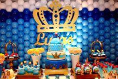 Decoração de aniversário infantil - Festa do Pequeno Príncipe