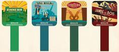 Pump clips … Brasserie de la Senne ! - Jean Goovaerts