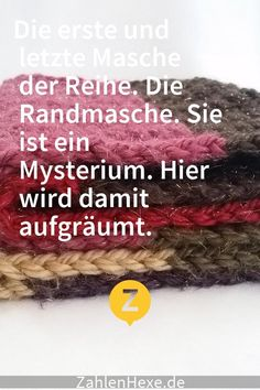 Welche Arten von Randmasche gibt es und wie s Why is the edge stitch such a problem? How Do You Knit, Learn How To Knit, Learn To Crochet, Finger Crochet, Wire Crochet, Thread Crochet, Crochet Stitches, Plastic Bag Crochet, Wire Jewelry Patterns