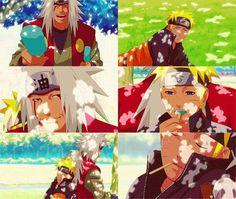 Whispers in my life, Naruto and Jiraya ^^ on We Heart It Itachi, Naruto Shippuden, Tsunade And Jiraiya, Naruto Gaara, Boruto, Hinata Hyuga, Naruto Fan Art, Anime Lock Screen, Manga Characters