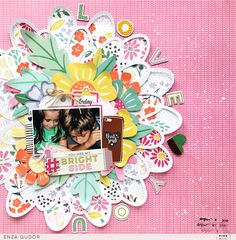 Bringing back an older collection can be fun and exciting like the first time! Take a look at this layout created with the Oh My Heart collection! Scrapbooking Layouts, Scrapbook Paper, Oh My Heart, Memory Album, Cutting Files, Mini Albums, Diy And Crafts, Love You, Diy Projects