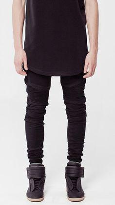 Wraith Biker Jeans, Machus, Portland Men's store, Machus Clothing, UK, Represent UK, Represent Clothing , Biker Denim – machus