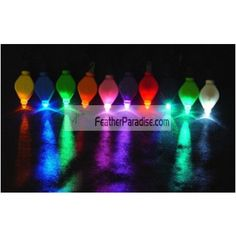 Wholesale Led Submerged Floral Lights / FloraLytes 12 Pieces Bulk Dozen Wedding Centerpieces