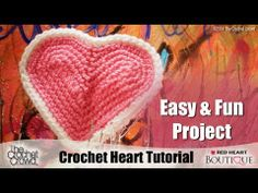 ▶ How to Crochet Hearts Tutorial - YouTube