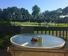 Monday mornings, vacation style. Come relax at Palmetto Dunes on Hilton Head Island!
