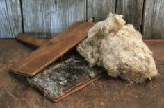 antique wool carder