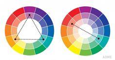 Крутая шпаргалка по сочетанию цветов — одна из важных составляющих совершенного образа и стильного и целостного интерьера. #секретвмелочах