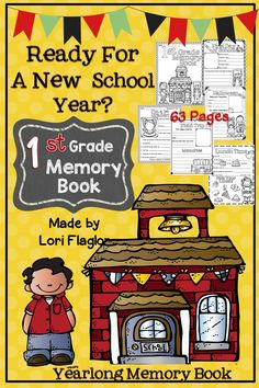 This yearlong memory book is just what you need to start making memories with your class.Check out the FREE samples provided.