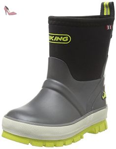 Viking Jolly, Unisex-Kinder Langschaft Gummistiefel, Gelb (Yellow 13), 30 EU