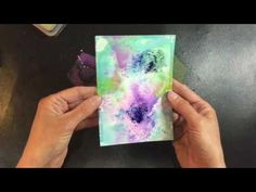How to Create Backgrounds with Distress Oxides - YouTube